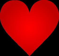 Big Red Heart - Free Clip Art