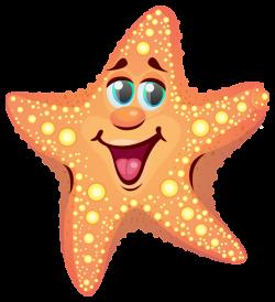 Cartoon Starfish PNG Clipart Image | Summer clip | Pinterest ...