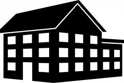 Big House Building Of Three Floors Svg Png Icon Free Download ...