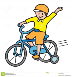 Riding Bike Rider Clipart