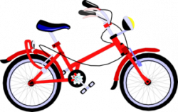Red Bicycle Clip Art at Clker.com - vector clip art online, royalty ...