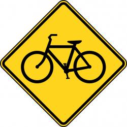 Bike Sign Clipart