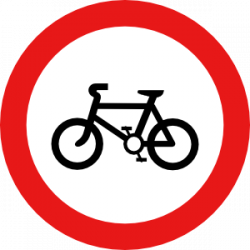 Bicycle Road Sign Clip Art | Clipart Panda - Free Clipart Images