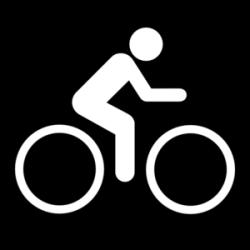 Black Sign Bike Clip Art at Clker.com - vector clip art online ...