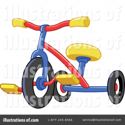 Tricycle Clipart #1091133 - Illustration by yayayoyo