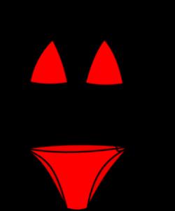Bikini Clip Art at Clker.com - vector clip art online, royalty free ...