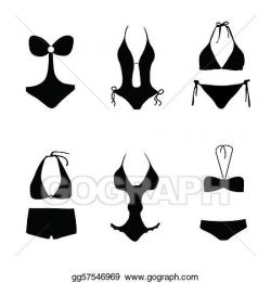 Bikini Clip Art - Royalty Free - GoGraph