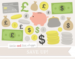 Money Clipart Save Up Clip Art Dollar Bill Clipart Credit
