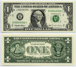 1 Dollar Bill Clipart