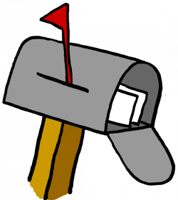 Mailbox us mail clipart clipart kid - Clipartix