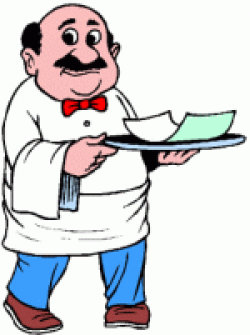 Restaurant Check Clipart 21879 | USBDATA