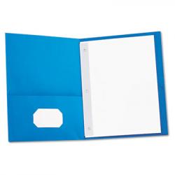UNV-57115: Universal Two-Pocket Portfolios w/Tang Fasteners ...