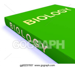 Drawing - Biology book shows education and learning. Clipart ...