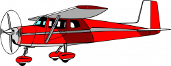 Illustration of a red cessna airplane : Free Stock Photo | clip art ...
