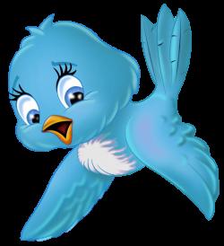 Large Blue Bird PNG Cartoon Clipart | 122 LADY A & LITTLE WINTER ...