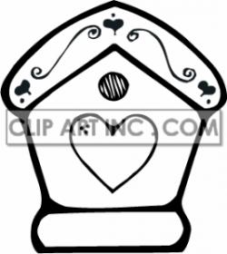 Cute Birdhouse Clipart | Clipart Panda - Free Clipart Images