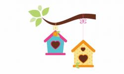 Bird House Clipart Bird Feeder - Bird House Clipart Png ...