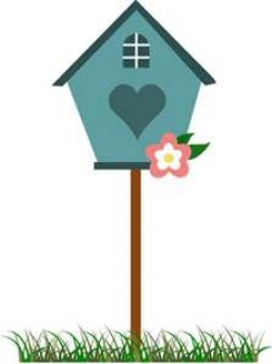 Birdhouse Clip Art - Bing images | Quilting | Bird houses ...