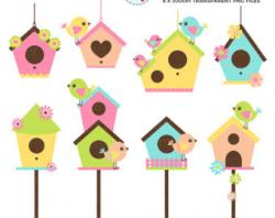 Free Birdhouse Border Cliparts, Download Free Clip Art, Free ...