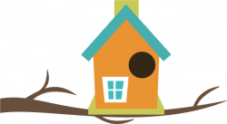 Birdhouse clipart | Nice Coloring Pages for Kids