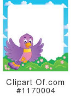 Clipart of Bird Borders #1 - 5 Royalty-Free (RF) Illustrations