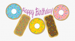Donut Printables Ⓒ - Happy Birthday Donuts Png #68799 ...