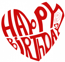 Transparent Heart Happy Birthday PNG Picture   Gallery Yopriceville ...