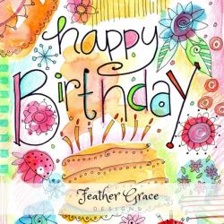 Watercolor Clipart Birthday Watercolor Clip Art Happy