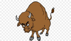 Cattle Water buffalo Clip art - bison png download - 500*519 - Free ...