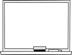 Clever Design Blackboard Clipart Black And White Pencil In Color ...