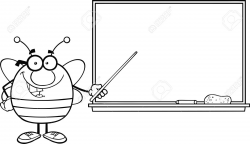 blackboard clipart black and white | Clipart Station