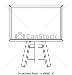 blackboard clipart black and white 3 | Clipart Station