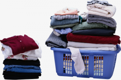 Stack Clothing, Clothes, Laundry Baskets, Stacking PNG Image and ...