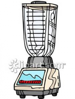 Empty Blender - Royalty Free Clipart Picture