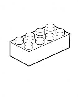 Lego Brick Coloring Page #0ba5e7662 | lego | Pinterest | Lego blocks ...