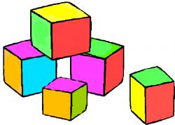 Toy Blocks Clipart