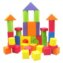 EVA Foam Building Block 43pcs EVA Safe Children Building Brick Block ...