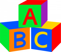 ABC Baby Blocks - Free Clip Art