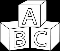 ABC Blocks Design | mirror image transfer | Pinterest | Cricut and ...