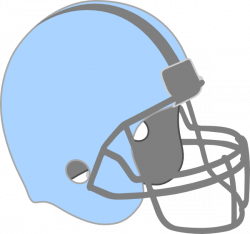 Blue Football Helmet Clip Art at Clker.com - vector clip art online ...
