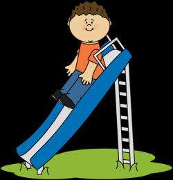 slide clipart kid playing on a slide clip art kid playing on a slide ...