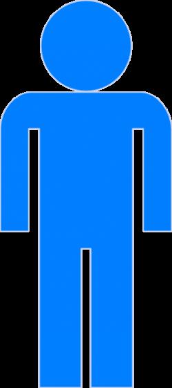 Blue Man Clipart Clip Art at Clker.com - vector clip art online ...