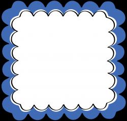 Blue Frame Clipart