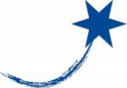 Blue Shooting Stars Clipart
