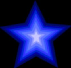 Blue Shooting Star Clipart