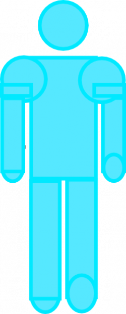 Blue Stick Figure Clip Art at Clker.com - vector clip art online ...