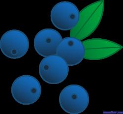 Berries Blueberries Clip Art - Sweet Clip Art