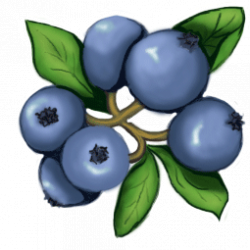 free blueberry Clip Art | blueberry clip art 11 255×255 | Tin Pedlar ...