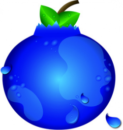 Blueberry clipart single - Pencil and in color blueberry clipart single
