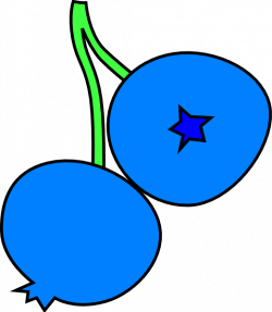 Blueberries Clip Art at Clker.com - vector clip art online, royalty ...